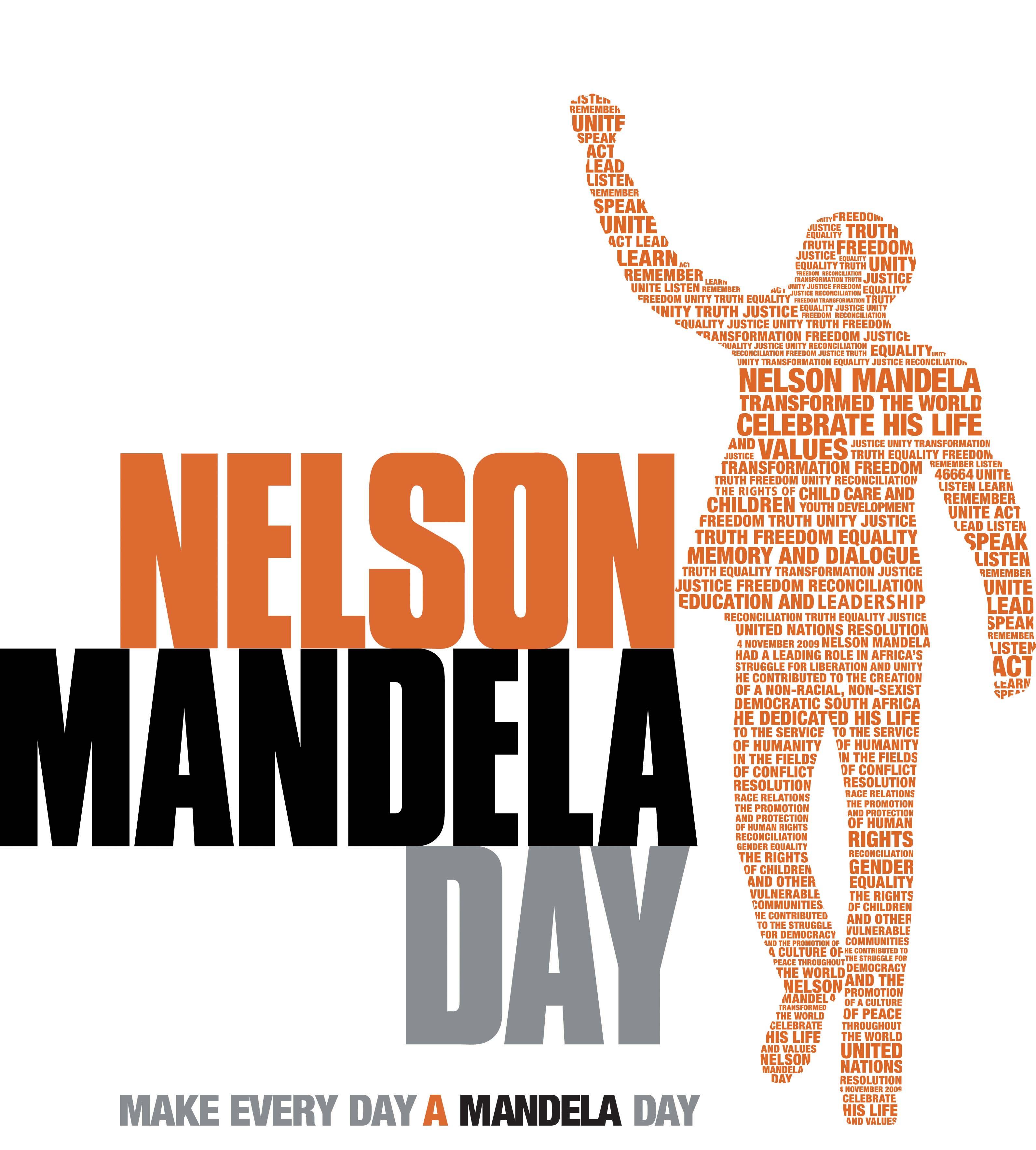 Nelson mandela international day annual date 18 july